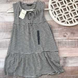 Lucky Brand, Striped Tank, Tie in Front NWT